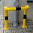 Aanrijbeveiliging - Aanrijbeugel (SH2) - Eenzijdige korte hoek