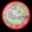 Informatiebord rond + full-colour opdruk