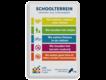informatiebord reflecterend met eigen ontwerp regels schoolterrein