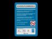 informatiebord reflecterend met eigen ontwerp regels schoolterrein politie