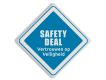 informatiebord reflecterend met eigen ontwerp veiligheid