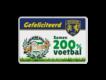 Informatiebord reflecterend gepersonaliseerd ontwerp voetbal VV Hattem Zwolsche Boys