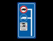 Routeborden op maat