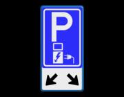 Parkeerborden elektrisch opladen