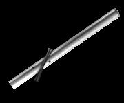 Verkeersbord-buispaal 1400 mm boven de grond - Aluminium