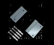 Muurbeugelset RAL7042 Aluminium
