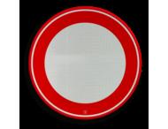 Verkeersbord RVV C01 - Gesloten voor alle verkeer