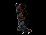 Verkeerslicht LED 3xØ210mm polycarbonaat