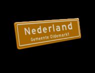 Naambord 1240x520 mm RVV H01b NEDERLAND