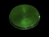Lens polycarbonaat verkeerslicht (VKL) groen