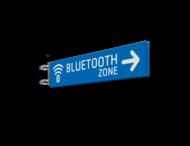 Verwijskoker 800x150x15mm  BLEUTOOTH zone