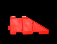 Barriër beginstuk 120 ltr. - 1450x600x400mm kunststof
