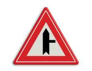 Verkeersbord RVV B05 - Voorrangskruispunt weg van rechts