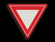 Verkeersbord RVV B06 - Voorrangskruising - verleen voorrang