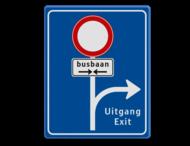 Informatiebord RVV L10-C01 Routebord