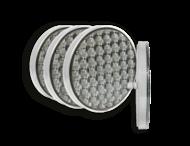 Hoeklampenset LED kit 4xØ200 + stuurunit