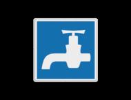 Scheepvaartbord BPR E.13 - Drinkwater voor schepen