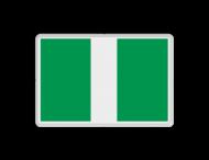 Scheepvaartbord BPR E. 1 - Invaart, uitvaart of doorvaart toegestaan
