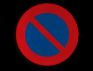 Verkeersbord België E1 - Parkeerverbod