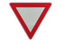 Verkeersbord België B1 - Voorrang verlenen