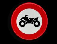 Verkeersbord België C6 - Verboden toegang voor bestuurders van motorvoertuigen met vier wielen