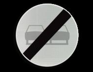 Verkeersbord België C37 - Einde verbod opgelegd door het verkeersbord C35