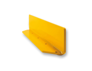 Beschermbeugel, Stalen hoekplint 100x150x10mm