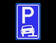 Verkeersbord RVV E08b