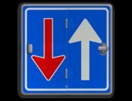 Klapbord - 3 standen - Vierkant conform RVV