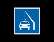 Scheepvaartbord BPR E. 7.1 - Toestemming te meren voor het van of aan boord zetten van een auto