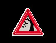 Waarschuwingsbord - vallende takken