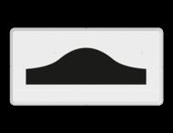 Verkeersbord RVV OB15 - Onderbord - drempel