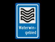 Verkeersbord RVV L304b - Waterwingebied