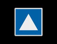 Scheepvaartbord BPR E. 5. 4 - Ligplaatsen voor niet-kegelvoerende duwvaart
