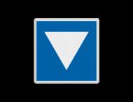 Scheepvaartbord BPR E. 5. 8 - Ligplaatsen voor niet-kegelschepen, geen duwvaart zijnde