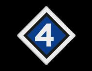 NS Seinbord 304 - Cijferbord