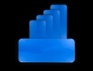 Straatnaambord omgezette rand - in kleur - zonder opdruk