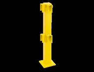 Balustrade Staander 1000 hoog, hoekpaal 90º