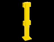 Balustrade Staander 1000 hoog, middenpaal