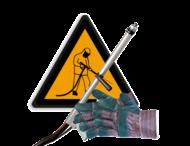 Ondergrond reinigen - Aanstralen