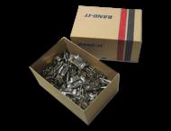 RVS buckels (100 stuks) voor RVS banditband 19mm