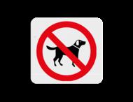 TBH Honden verboden 119x109mm - klasse 3