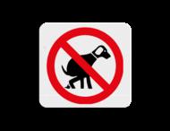 TBH Honden verboden uitlaten 119x109mm - klasse 3