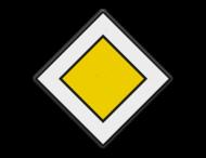 Verkeersbord RVV B01 - Voorrangsweg