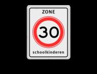 Verkeersbord RVV A01-xxx zb + txt