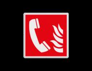 Brand bord F006 - Telefoon voor brandalarm