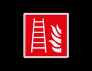 Brand bord F003 - Ladder