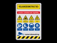 Veiligheidsbord | 8 symbolen + banners