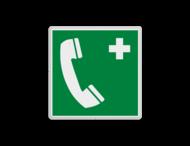 Reddingsbord E004 - Noodtelefoon