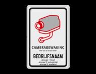 Camerabord Belgë conform Wet van 21 maart 2007